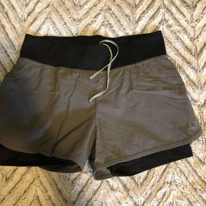 Women's medium REI running shorts